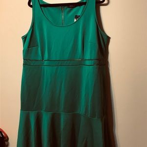 NWT eloquii green dress